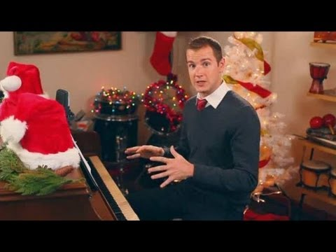 """O Little Town of Bethlehem"" on Piano 