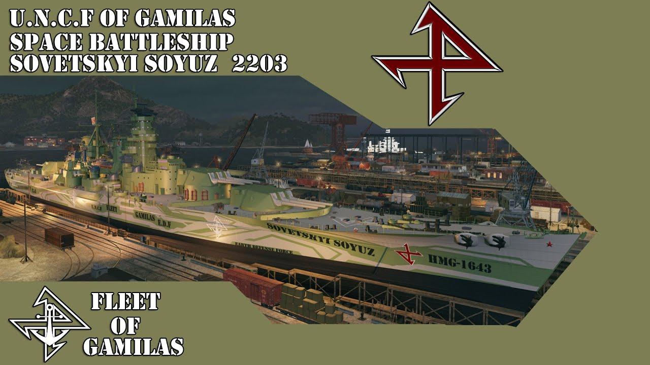 World of Warships DLC Fleet of Gamilas (Sovetskyi Soyuz)