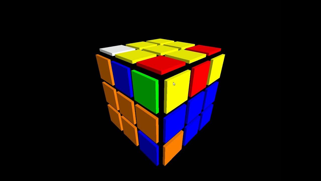 Animated Wallpaper Windows 8 Free Rubiks Cube Animation Test Youtube