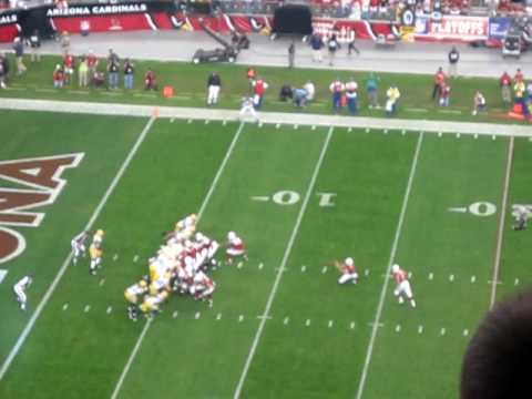 Neil Rackers Field Goal at Univ. of Phoenix Stadium on 1/10/2010