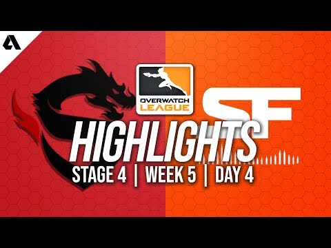 Shanghai Dragons vs San Francisco Shock | Overwatch League Highlights OWL Stage 4 Week 5 Day 4 thumbnail