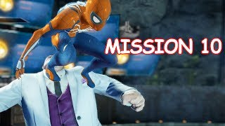 Playing as PS4 Spider-man - Mission 10 Fisk - The Amazing Spider-man 2 (PC)