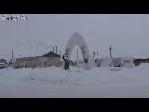 Среднеколымск на берегу Колымы