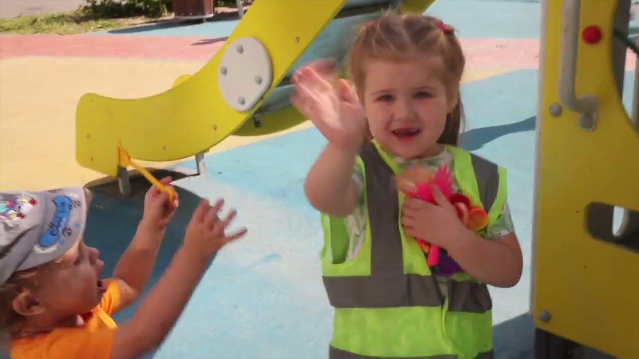 Наш любимый детский сад Солнечный зайчик