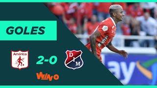 América vs. Medellín (2-0)   Liga BetPlay Dimayor 2020-I   Fecha 5