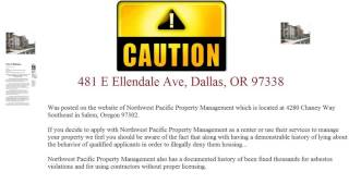 Beware  Ellendale Manor Apartments 481 E Ellendale Ave, Dallas, OR 97338