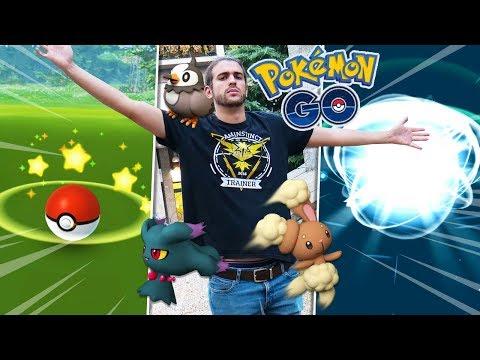 Prima EVOLUZIONE e CATTURA di Quarta Generazione! - Pokemon GO ITA