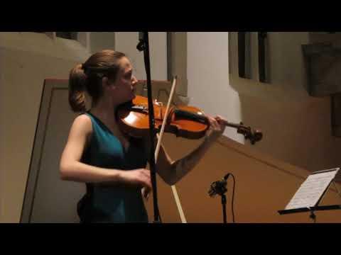 Dana Zemtsov   viool   Cathelijne Noorland   Piano   G Bizet   Carmen Fantasie