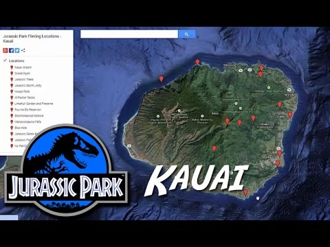 Kauai jurassic park filming locations info map youtube kauai jurassic park filming locations info map gumiabroncs Choice Image