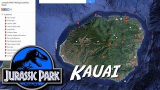 Kauai - Jurassic Park Filming Locations - Info & Map