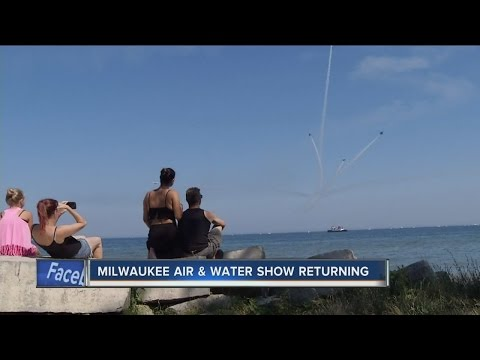 Air & Water Show is returning to Milwaukee's lakefront