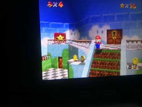Super Mario 64 on a PSP