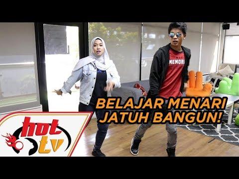 HAQIEM RUSLI ajar menari step Jatuh Bangun