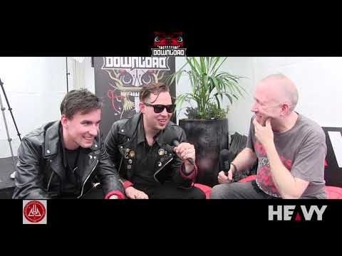 BLACK FUTURES Interview on HEAVY TV @ DOWNLOAD FESTIVAL 2019 Mp3