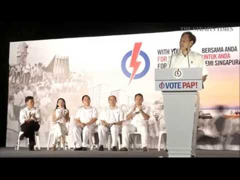 PAP rally @ Choa Chu Kang Secondary School