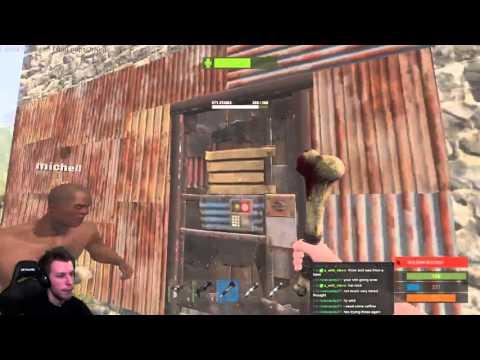 Rust: [Online raid] Solo raid!