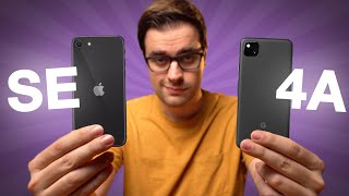 Pixel 4a vs iPhone SE: Which Should You Buy?
