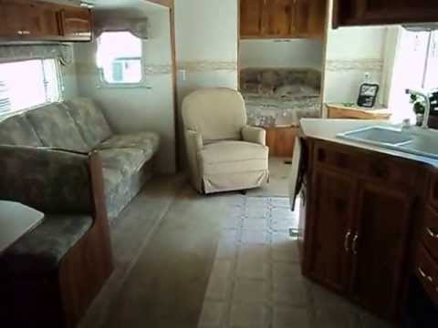 2003 layton 2 bedroom 371 slide out destination trailer 10006 | hqdefault