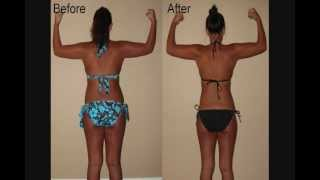 P90X Insanity Results Women - Weight Loss Transformation