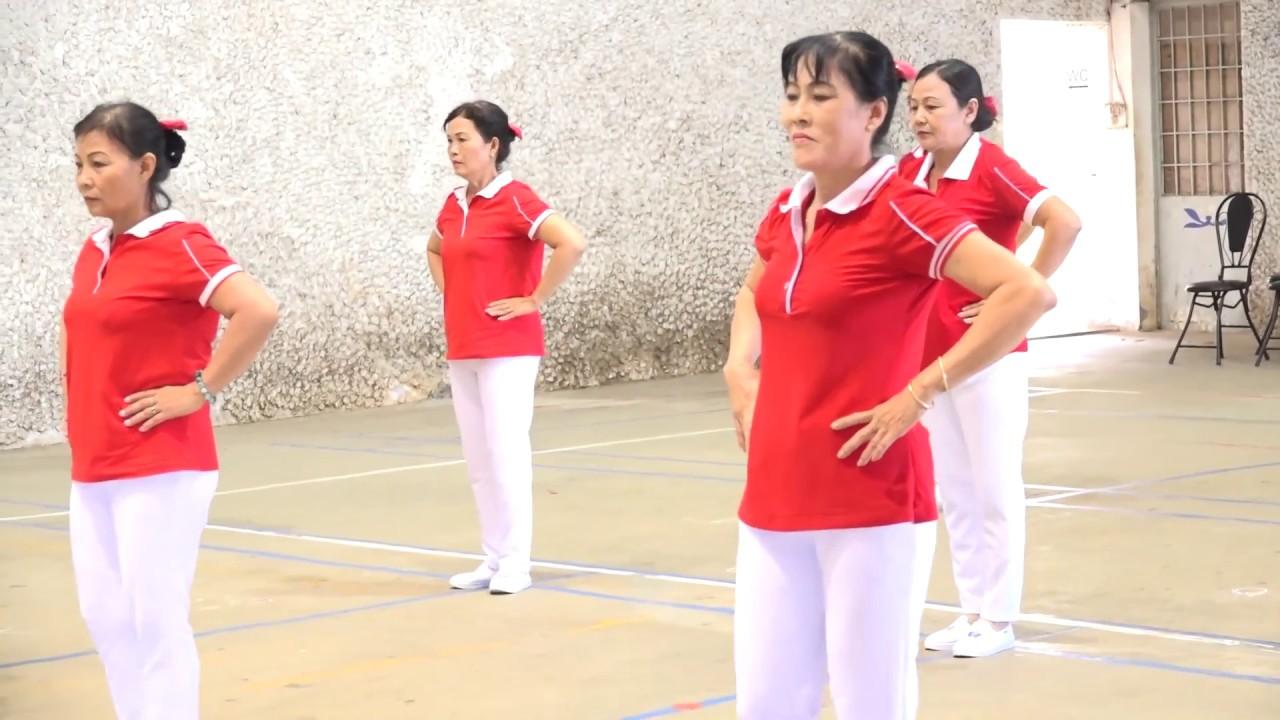 Giải vô địch thể dục Dưỡng sinh tỉnh Tây Ninh năm 2016. H-Tân Biên