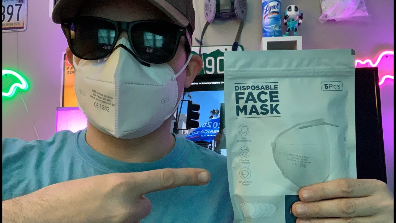 N95 Face Mask Review & Giveaway