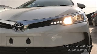 2017 Toyota Corolla GLI 1.3 Facelift Review! PakistanVlog#7