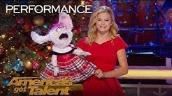 "Darci Lynne and Petunia Sing ""Rockin' Around the Christmas Tree"" - My Hometown Christmas Performance"