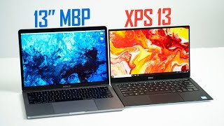 "2019 XPS 13 9380 vs 13"" MacBook Pro - Ultimate Comparison"