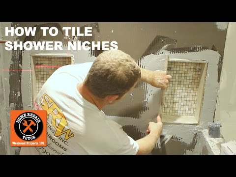 Tiling a Shower Niche (Step-by-Step)