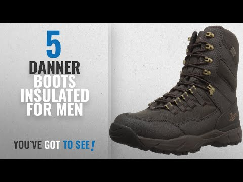 7367df5a1 Top 10 Danner Boots Insulated [ Winter 2018 ]: Danner Men's Vital Insulated  400G Hunting Shoes, - YouTube