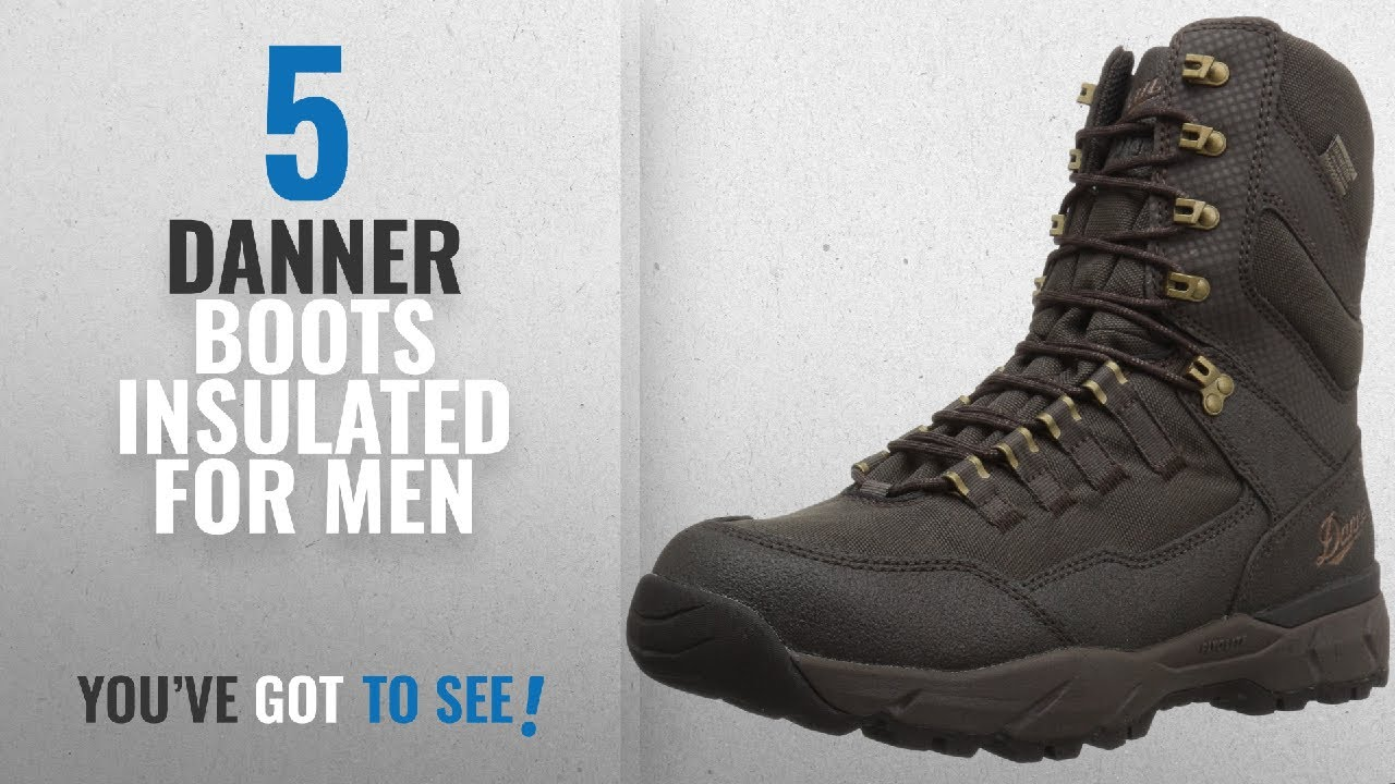 05e2a3d122e Top 10 Danner Boots Insulated [ Winter 2018 ]: Danner Men's Vital Insulated  400G Hunting Shoes,