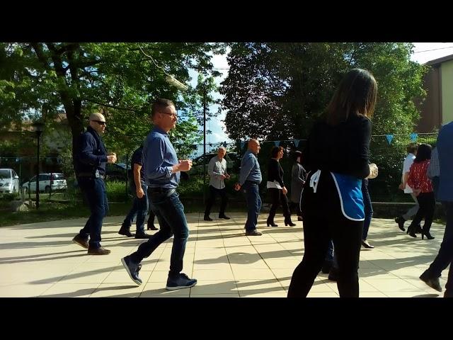 La Pizzica Ballo di gruppo alla Festa del 1 maggio a Toano
