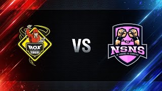 TORNADO.ROX vs NS-NS  - day 1 week 4 Season I Gold Series WGL RU 2016/17