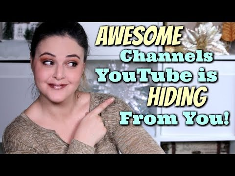 """BEST """"Undiscovered"""" Beauty Channels Under 5K Subscribers! 