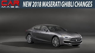 2018 Maserati Ghibli Changes Specs and Price