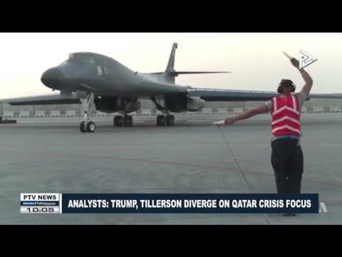 GLOBAL NEWS | Analysts:  Trump, Tillerson diverge on Qatar crisis focus