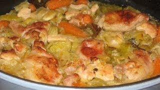 Chicken Casserole Delicious Recipe - Chicken and Vegetable Casserole Recipe