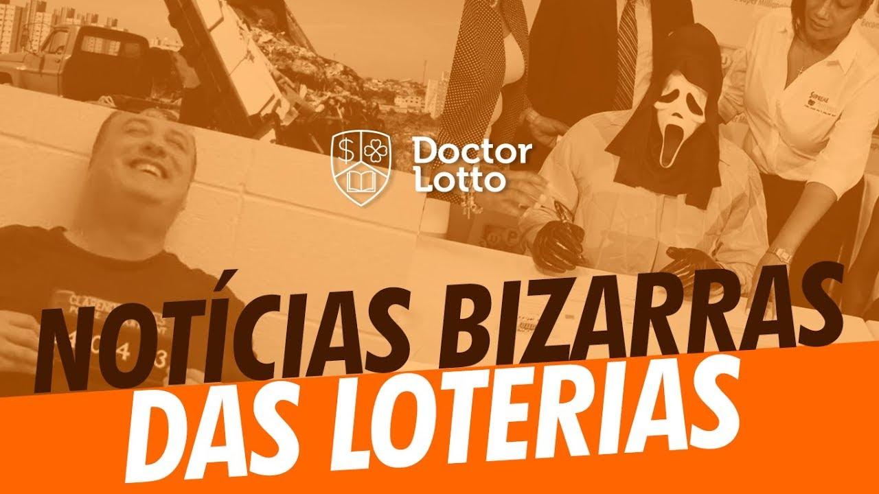 AS NOTÍCIAS MAIS BIZARRAS DAS LOTERIAS NO MUNDO