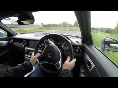 Virtual Video Test Drive in our Mercedes Benz SLK 3 5 SLK350 Blue EFFICIENCY AMG Sport 7G Tronic 2dr