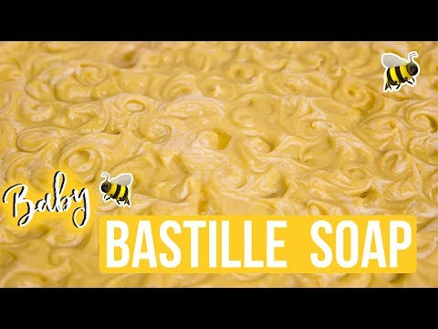 Bastille Baby Soap with Coconut Milk | Royalty Soaps
