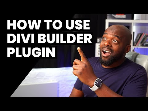 How to use Divi builder plugin