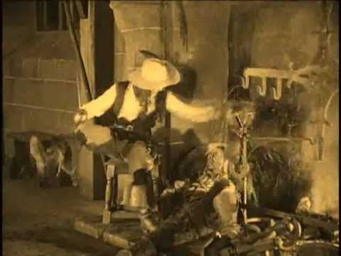 Random Movie Pick - Violence: Douglas Fairbanks as d'Artagnan in A Modern Musketeer (1917) Allan Dwan YouTube Trailer