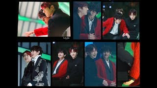 All sweet taekook moments during Melon tonight (Taekook vkookv)