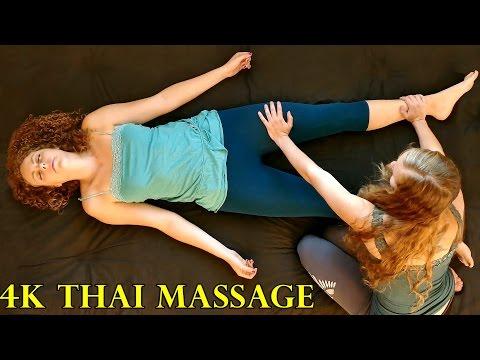4k Thai Massage Part 1 – How to Do Thai Massage Therapy Techniques