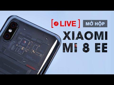 Mở Hộp Và Trên Tay Nhanh Xiaomi mi8 EE