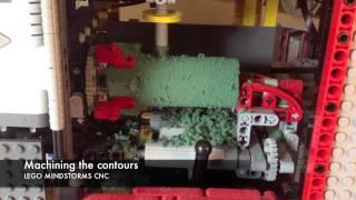 LEGO MINDSTORMS CNC Lathe / Mill