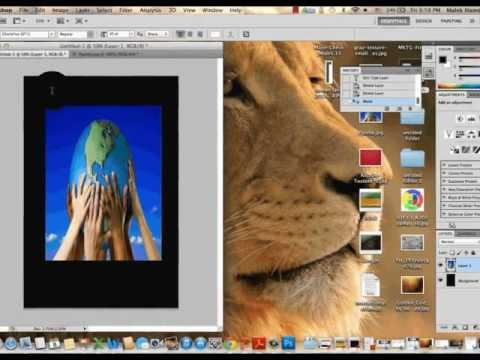 how to make a poster in photoshop cs6