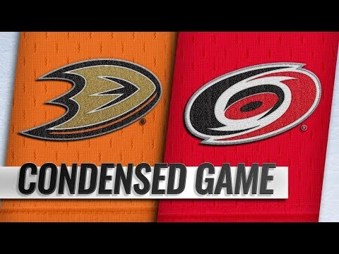 Anaheim Ducks vs Carolina Hurricanes | Nov.30, 2018 | Game Highlights | NHL 2018/19 | Обзор матча
