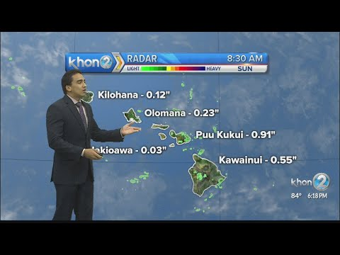 The news work week brings new weather conditions across the islands