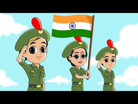 nanha-munna-rahi-hoon-i-funforkidstv---hindi-rhymes-i-26-january-song